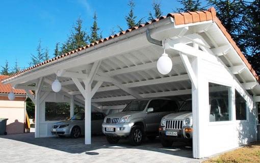 Construction de Garages en Bois