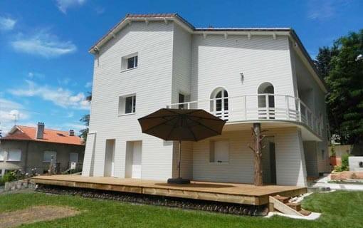 Construction de Maison en Bois